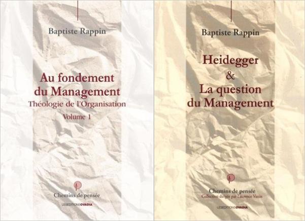 Management & Philosophie : entretien avec Baptiste Rappin.