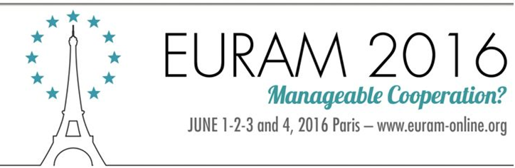 Call for Papers - 2016 EURAM
